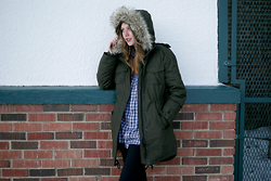 Flannel Foxes -  - Crazy Fur Parkas!