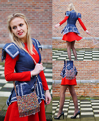 Susanne Bender - My Touch Of Africa Top, Zara Dress - A special touch...!