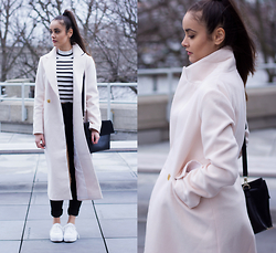 Savina Official - Yoins Coat, Topshop Top, Miss Selfridge Jeans, French Connection Uk Bag - Cold never bothered me anyway