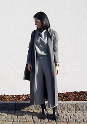 Kat I. - Just Female Via Monomin Coat, Shein Set, Cluse Watch, Zara Shoes - Mf/020116