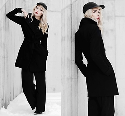 Ebba Zingmark - Golfstrom Coat, Monki Pants, Marc O'polo Shoes, Nike Cap - THERE'S NO IN BETWEEN