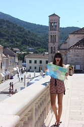Marina Minassian - New Look One Piece, Havainas Flip Flops - Crazy in love w/ Hvar
