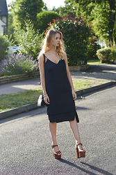 Lauren Wilson - Whistles Dress, Asos Heels - Little Black Dress
