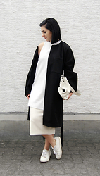 Kat I. - Whitte Via Garmentory Coat, Mango Top, Tfnc London Skirt, Zara Shoes - Mf/020516