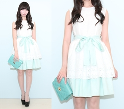 Otto Lillian -  - Loan Lace Cotton Dress