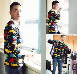 Chris Su - Asos Sweater - Dragon Candy