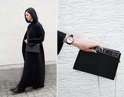 Kat I. - Mango Coat, Cluse Watch, Cafune Bag - Mf/021116