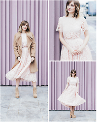 Lydie Bonhomme - Asos Coat, Asos Dress, Asos Shoes - En mode Valentin