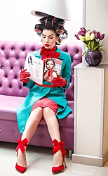 Laura Veronica - Sweet Paprika Dress, Dealsale Shoes - Glamour lady...
