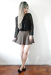Thais Chung - Shop Tk Lace Top, Shop Tk Knitted Skirt - I'M GOOD WITH OUT U