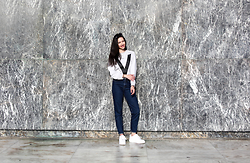 Christy Jaldori - Stradivarius Mom Jeans, Nike Air Force 1, Ivyrevel Sweater - MOM JEANS