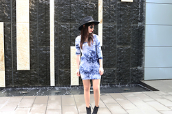 Paula Gallagher -  - Blue Tie-Dye
