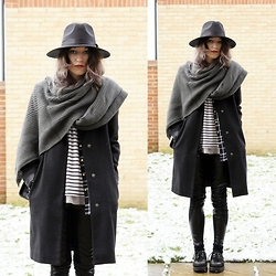 Agata P - Scarf, Primark Coat - No Dreamers Left Behind