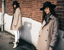 Bea G - Coat, Jeans, Boots, Knit, Hat - Chasing The Shadows