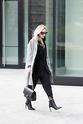 Meagan Brandon -  - Milan Fashion Week: Luxe Layers