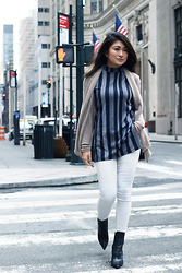 Samantha Nie (www.starringsamantha.com) -  - Striped Tunic