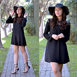 Ingrid Lemos - Sheinside Black Dress - Black Dress