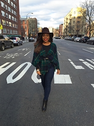 Christian Riley - Tory Burch Denim, Urban Outfitters Boots - Create Your Own Lane