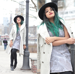 Mairanny Batista -  - Classic NYC Cold-Weather-Freezing Fashionista