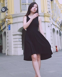 Aranel G - H&M Black Dress - Little Black Dress
