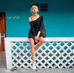Ebba Zingmark - For Good Luck Dress, Adidas Sneakers - WHEN IN MEXICO