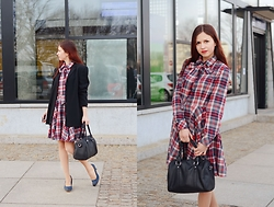 Ola Brzeska - L'attore Checked Dress - Checked dress Look #2 smart