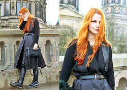 Katharina K. - H&M All Clothing, Dr. Martens Shoes, Liebeskind Berlin Bag - Berlin I