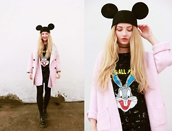 ♡Anita Kurkach♡ - Wholesale7 Shirt, Wholesale7 Shoes, Sheinside Coat, Sheinside Pink Coat - FUN TIME!