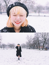 Kennie Cheng -  - SNOW IN MANCHESTER!!