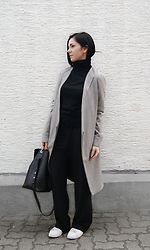 Kat I. - Tanroh Coat, Zara Turtleneck, Mango Pants, Zara Shoes - Mf/030916