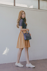 Tricia Gosingtian - Strathberry Bag, Sfera Top, X:Y Skirt, Le Bunny Bleu Shoes - 030816