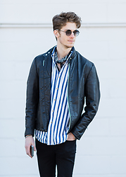 Dillan Moore -  - Leather and stripes II