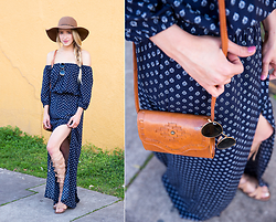 Payton Sartain - Bridgette Bailey Dress, Sam Edelman Sandals, Zappos Bag - Santa Monica Brunch