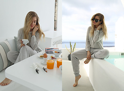 Isabella Thordsen - Reiss, Céline, Reiss - Comfy loungewear look