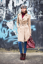 Gabriela A. - Motivi Coat - Fashion Detective