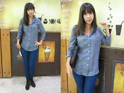 Sakuranko * -  - Casual Solid Blue