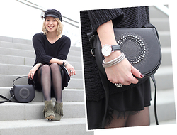 Lavie Deboite - Sacha Shoes, Noisy May Sweater, C&A Bag - New Shoes - Fringes