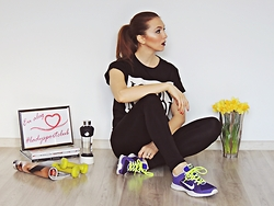 Daniela Macsim - Nike Sneakers - Fashion Meets Sport