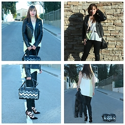 Ana Drosu - Lollipops Bag, Mango Jaket, Zara Sandals, Zara Shirt, Mango Pant - Welcome Spring