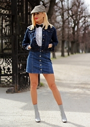 Ana Maria Oprea - Bershka Denim, H&M Denim, Public Desire Ankle Boots - The '70s are back in fashion/anamariaoprea.com