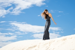 Roxley Moxie - Free People Black Jumpsuit - Where Sand Meets Sky