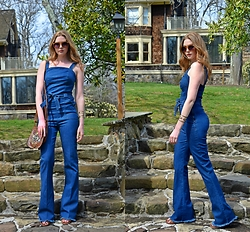 Rachel Kehoe -  - Denim Jumpsuit