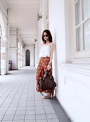 Leonie Leong - Zara Pants, Chloé Bag, Kimchi Blue Top - This Thing With Sarongs