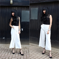 Rachel Oliver - Asos Top, Zara Culottes - Easter Sunday