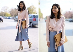 Konstantina Antoniadou - Missguided Culottes, Missguided Shoes - Blogged! 3 TRANSITION PIECES FOR SPRING