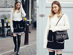 Noor G. - H&M Sweater, Asos Skirt, Zign By Zalando Boots, Chloe Bag - I DIDN'T FORGET