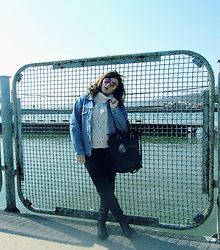 Tanya S - New Look Sweater, Levi's® Jeans Coat, Reserved Bag, H&M Jeans - Blueprint