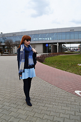 Beata Zet -  - Oh, blue. check whole look at beelovesfashion.