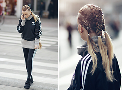 Noor G. - Adidas Sweater, Adidas Legging, Adidas Sneakers - BACK IN SHAPE