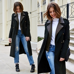 Sylwia Gocajna - Bershka Coat, Promod Jacket, Tally Weijl Jeans - The choice is yours